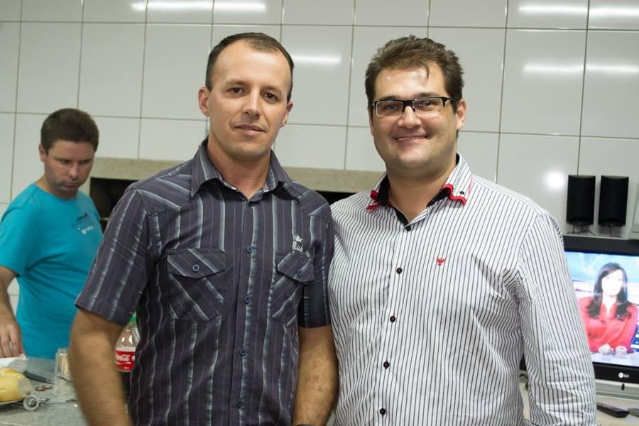 Nazareno (esquerda) e Cleiton Salvaro (direita) - Foto: Divulgação/Facebook