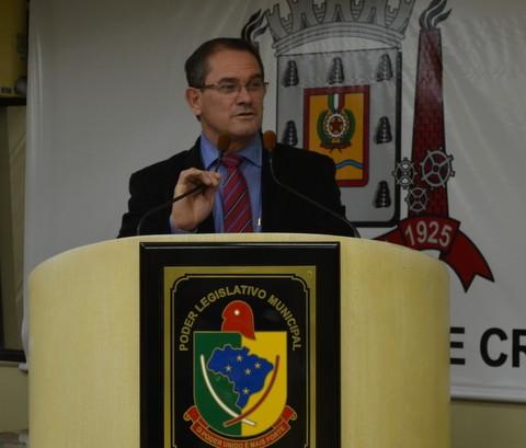 Vereador Salesio Lima (Foto: Daniela Savi)