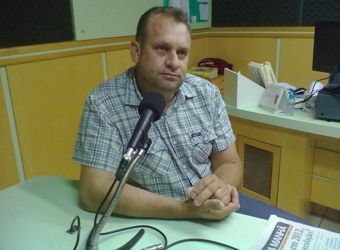 Geraldo Baldissera (Foto: Rádio Difusora)