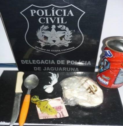 Foto: Polícia Civil de Jaguaruna