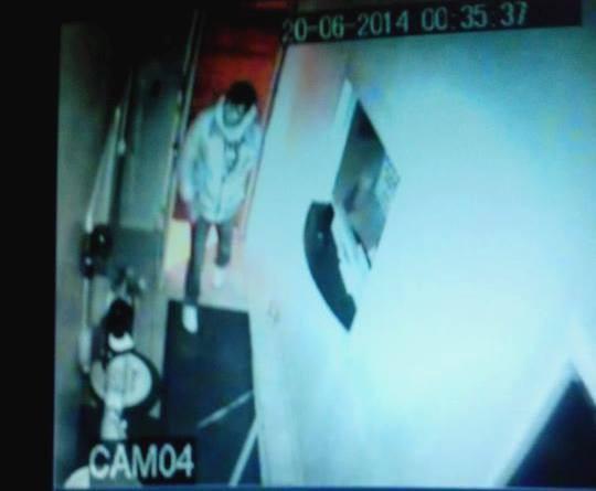 Foto: Câmera de segurança