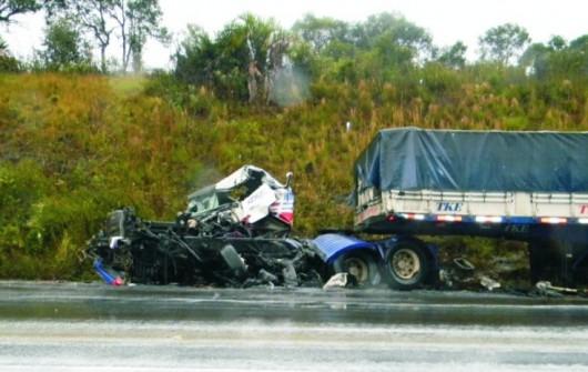 ... Um Volvo, De Umuarama (PR), E Um Mercedes Benz, De Araranguá, Resultou  Na Morte De Luiz Fernando Santos Da Silva, De 34 Anos, Morador De Santa Rosa  ...