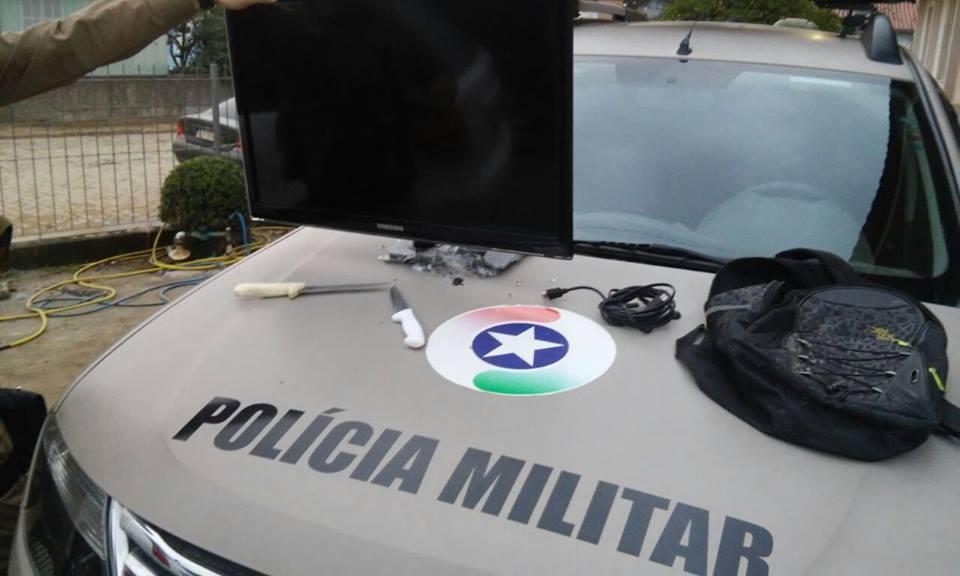 Foto: PM de Braço do Norte/Divulgação