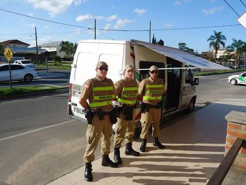Foto: 5º Batalhão de Polícia Militar/Divulgação/Notisul