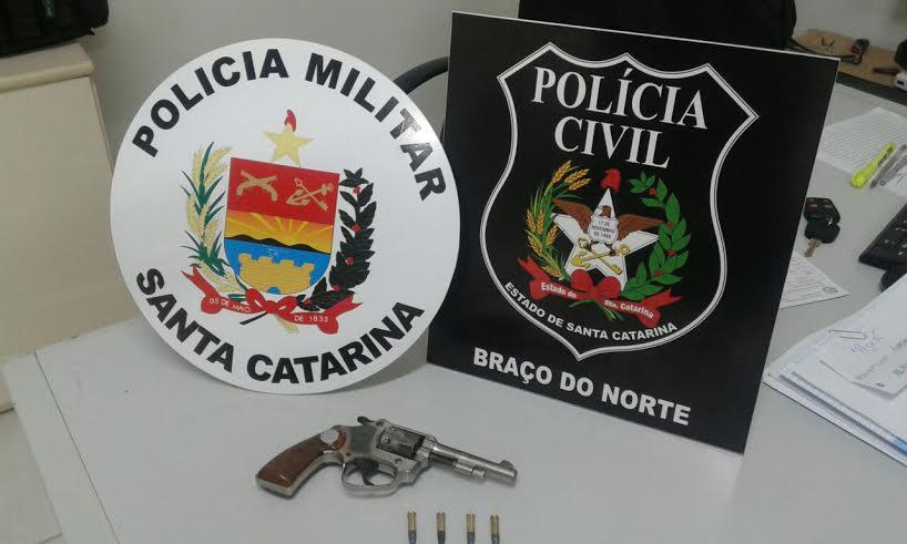 Foto: PM e PC de Braço do Norte
