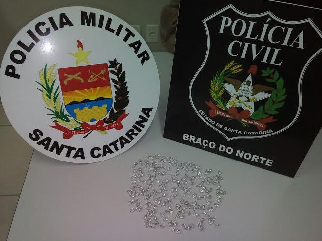 Foto: Divulgação PM e PC de Braço do Norte
