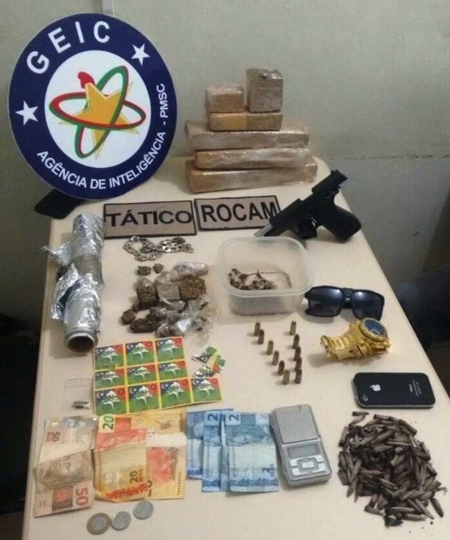 Foto: Polícia Militar / Clicatribuna