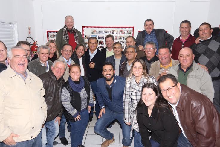 Foto: Assessoria de Imprensa do PMDB Içara
