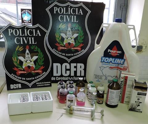 Foto: Polícia Civil de Tubarão/DCFRT/Divulgação