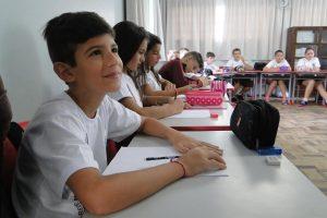 Início do ano letivo das escolas municipais de Urussanga