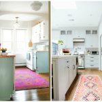 Cozinha decorada com tapet