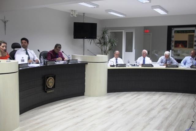 Imagem da 3ª sessão da Câmara de Vereadores de Orleans