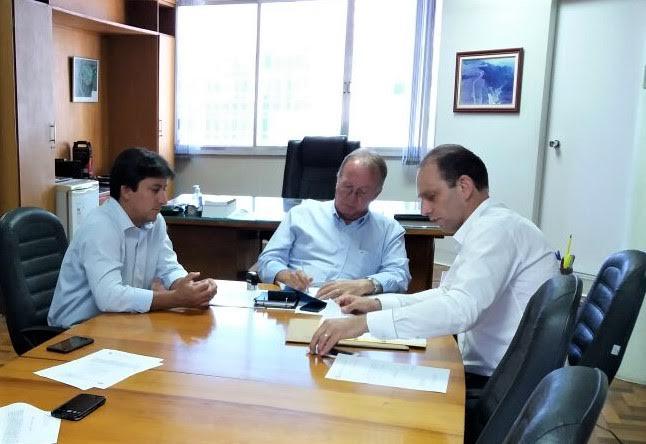 Prefeito de Braço do Norte participa de reuniões no Deinfra e na Secretaria de Estado da Saúde