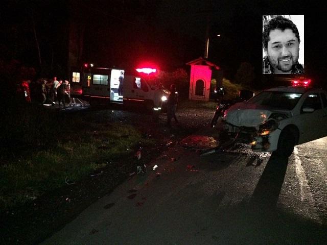 Jovem morre após colisão na SC-446, em Treviso