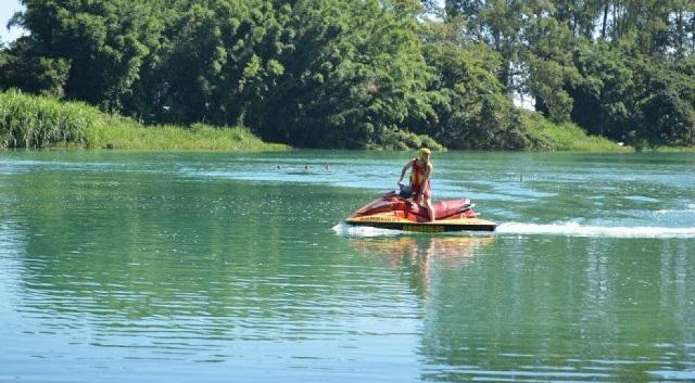Bombeiros buscam por adolescente desaparecido no Rio Araranguá