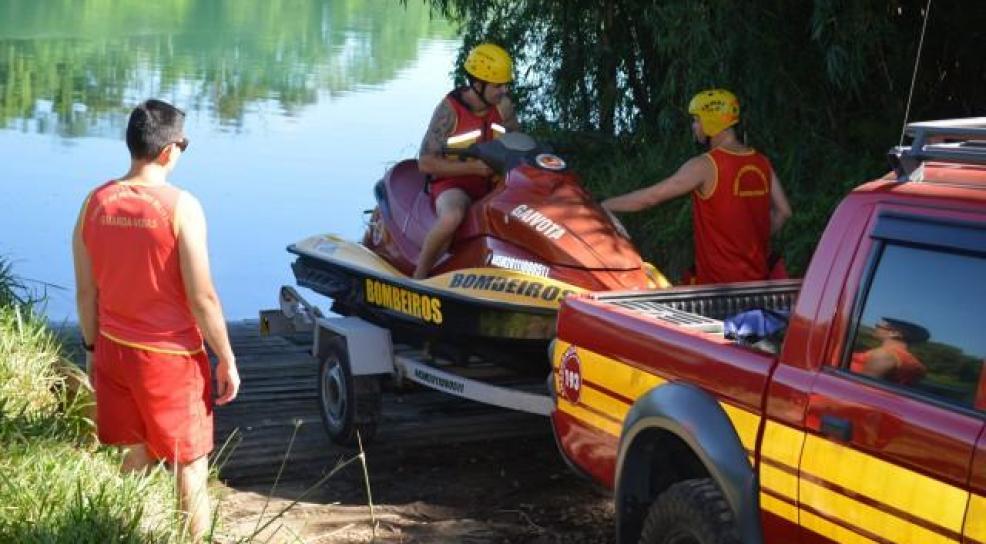 Bombeiros buscam por adolescente desaparecido no Rio Araranguá3