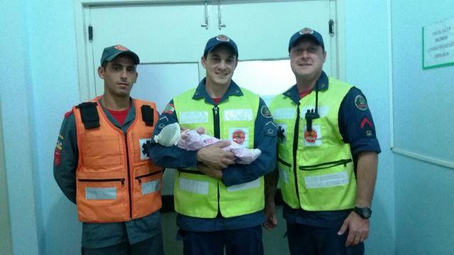 Bombeiros realizam parto emergencial em Araranguá