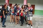 Cultura local é apresentada a intercambistas na Escola Visconde de Taunay, em Lauro Müller3