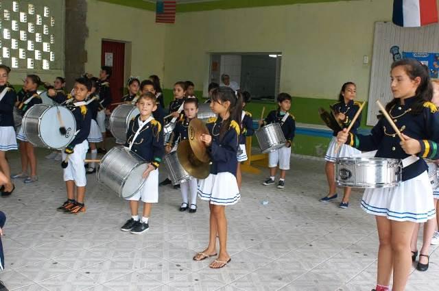 Cultura local é apresentada a intercambistas na Escola Visconde de Taunay, em Lauro Müller4
