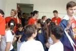 Cultura local é apresentada a intercambistas na Escola Visconde de Taunay, em Lauro Müller7
