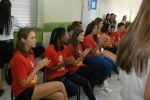 Cultura local é apresentada a intercambistas na Escola Visconde de Taunay, em Lauro Müller9