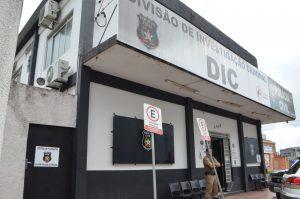 DIC detém adolescente acusado de cometer três homicídios em Criciúma