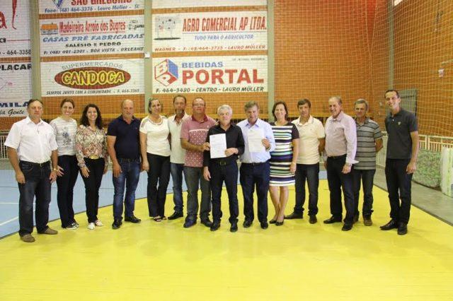 Entregue ordem de serviço para pavimentação na comunidade de Rio Capivaras Alto2