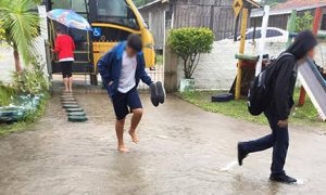 Escolas de Laguna apresentam problemas de drenagem