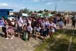 Família faz manifestação e pede justiça em frente ao HRA7