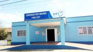 Hospital Psiquiátrico Instituto de Saúde e Educação Vida - ISEV, no distrito de Rio Maina, Criciúma