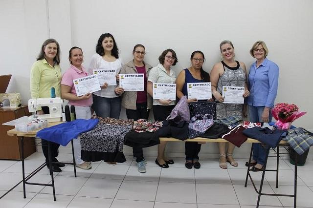 Inscrições para Cursos de Corte e Costura até o dia 21 de março, em São Ludgero