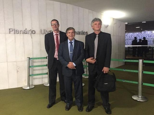 Lideranças de Lauro Müller retornam a Brasília para audiência de ampliação do Parque de São Joaquim