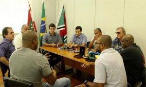 Medalhista olímpico apresenta projeto esportivo à Prefeitura de Criciúma