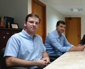 Morro da Fumaça - prefeito Noi Coral e o vice-prefeito Eduardo Sartor Guollo