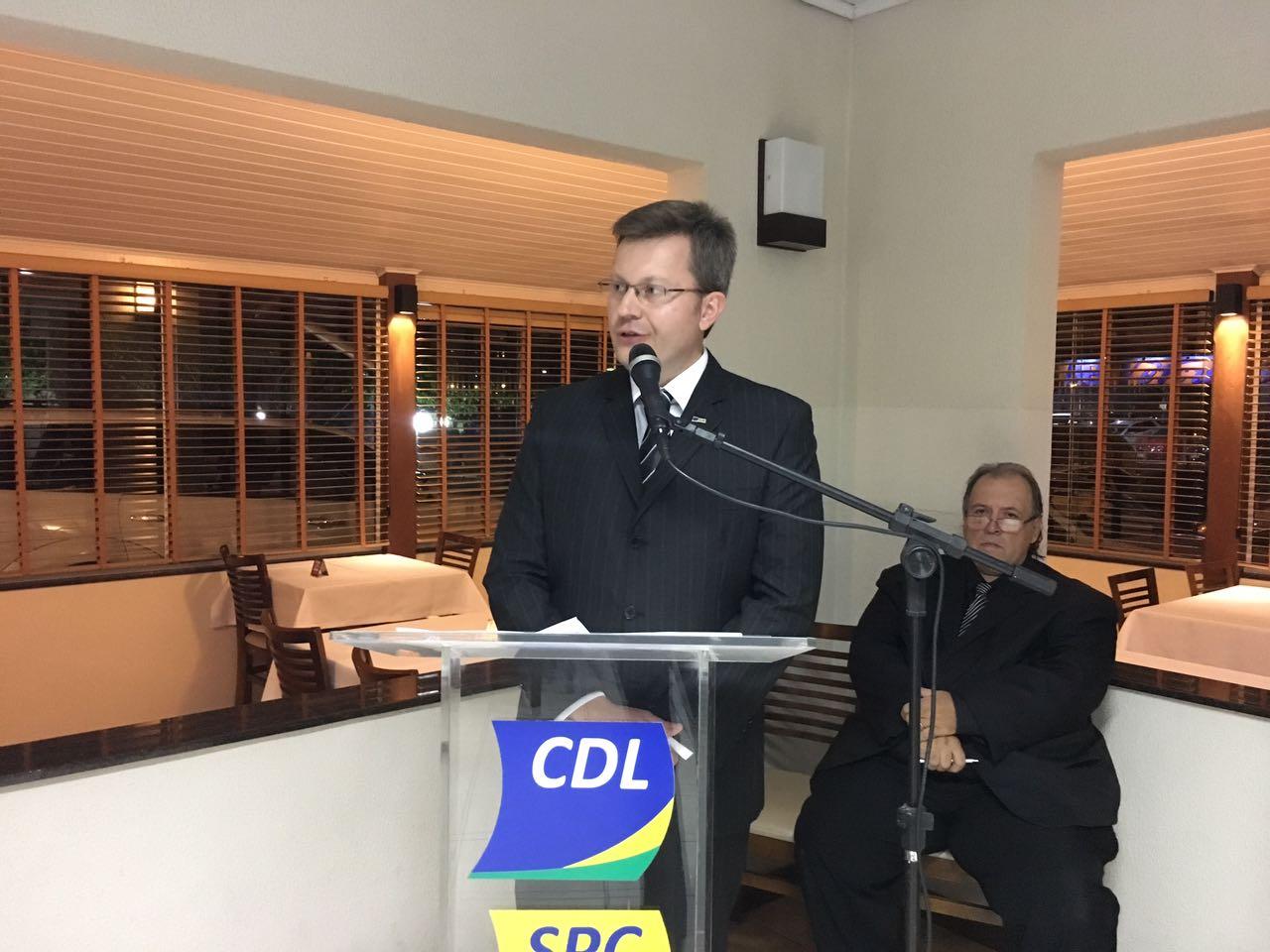 Nova diretoria assume comando da CDL de Braço do Norte por dois anos