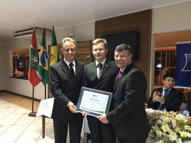 Nova diretoria assume comando da CDL de Braço do Norte por dois anos5