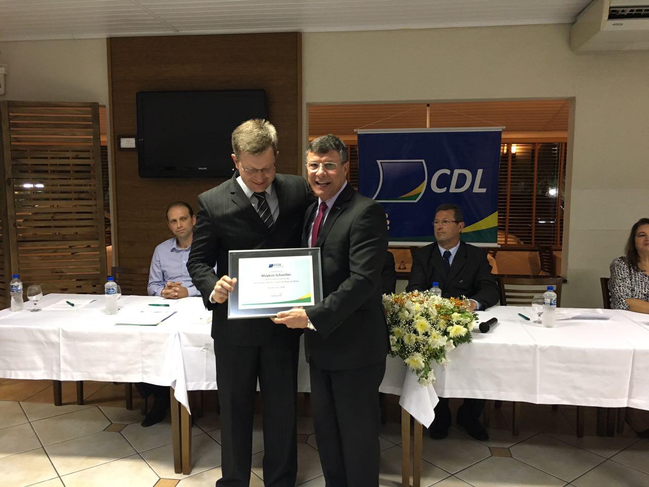 Nova diretoria assume comando da CDL de Braço do Norte por dois anos6