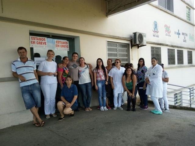 Paralisação Hospital São Marcos Nova Veneza