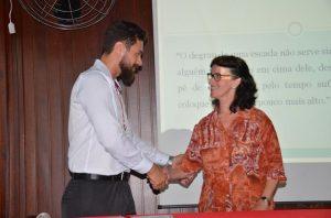 Parceria entre Esucri e Lapagasse possibilita reforma do colégio, em Criciúma