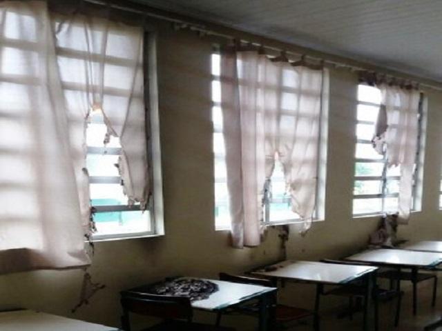 Pela segunda vez neste ano, escola de Criciúma é alvo de vandalismo5