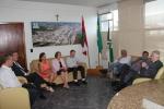 Prefeito Valdir Fontanella recebe visita do Príncipe Dom Bertrand de Orléans e Bragança