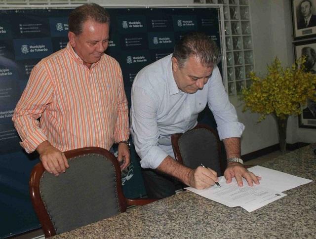 Prefeitura de Tubarão recebe emenda de deputado federal no valor de R$ 600 mil