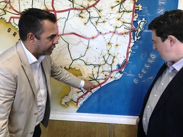 Secretaria da Infraestrutura e DNTI estabelecem parceria para Via Rápida de Criciúma