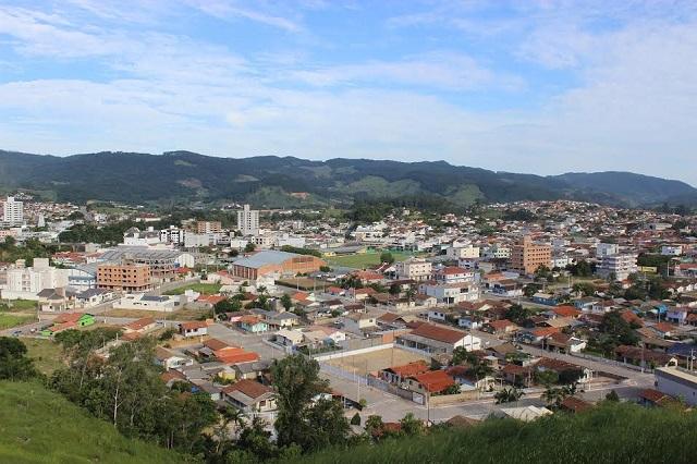 Vista da cidade de São Ludgero