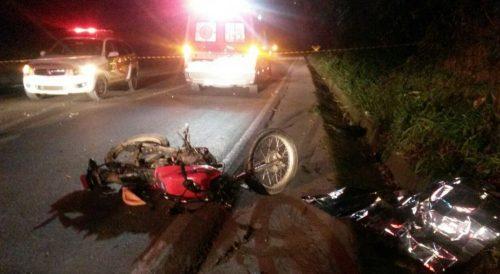 Colisão frontal resulta em morte de motociclista na SC-445, em Siderópolis2