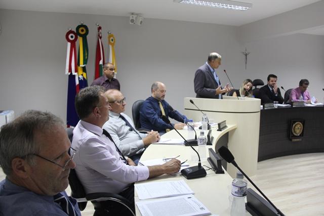 Ivanir Soliman Câmara de Vereadores de Orleans