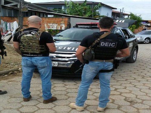 Maior ofensiva da PC no combate a facções ocorre em Laguna e em outras seis cidades1