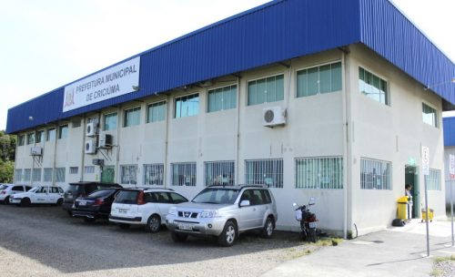 Paço municipal sede Prefeitura de Criciúma