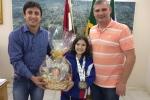 Campeã brasileira de Karatê é recebida no gabinete3
