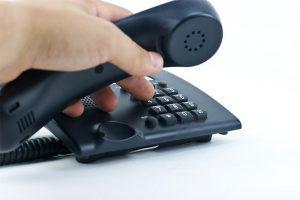 Golpe lista telefônica